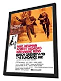 Butch Cassidy and the Sundance Kid - 27 x 40 Framed Movie Poster