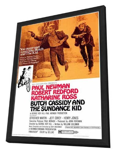 Butch Cassidy and the Sundance Kid - 27 x 40 Framed Movie Poster by Movie Posters