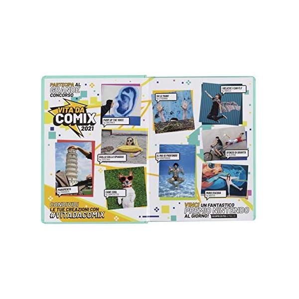 Comix - Diario 2020/2021 16 Mesi - Yellow neon - Mini 2 spesavip