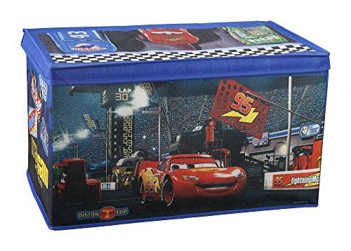 Delta Children Fabric Toy Box, Disney/Pixar (Lightning Mcqueen Fabric)