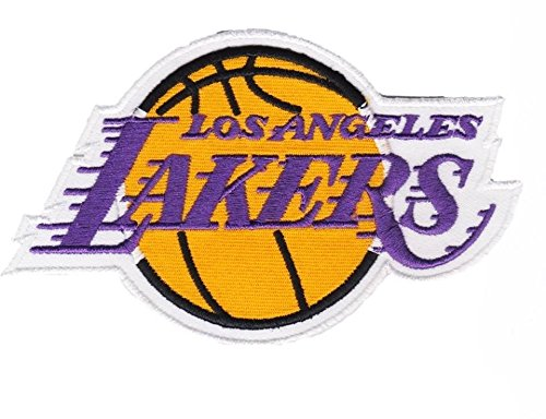 Los Angeles Lakers National Basketball Association Team NBA Sports extreme sports Patch Sew Iron on Embroidered Applique Sign Vest Jackt T shirt Costume Gift