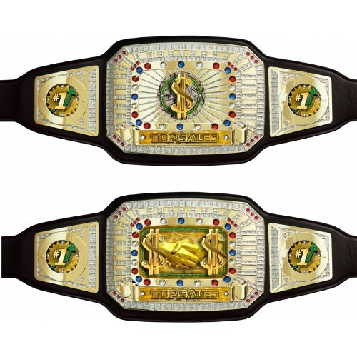 Top Sales Champion Award Belt by TrophyPartner by TrophyPartner