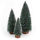NUOLUX Christmas Tree,Desktop Miniature Pine Tree 6 pcs