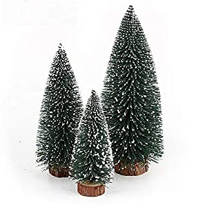 NUOLUX Christmas Tree,Desktop Miniature Pine Tree 6 pcs 36