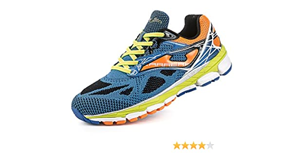 Joma - Carrera, Color Naranja,Azul, Talla UK-11.5: Amazon.es ...