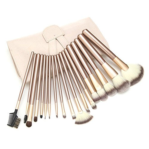 Ammiy® 18tlg Profi Makeup Pinsel Burste Brush Set Fundation Lidschatten
