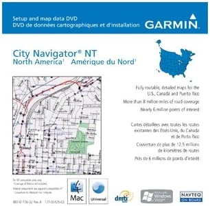 Garmin nüMaps North America Onetime Map Update for detailed maps of US,  Canada and Puerto Rico (mini SD/SD Card)