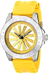 "Android Men's AD778AY Time Machine ""Sport Edition"" Analog Display Automatic Self Wind Yellow Watch"