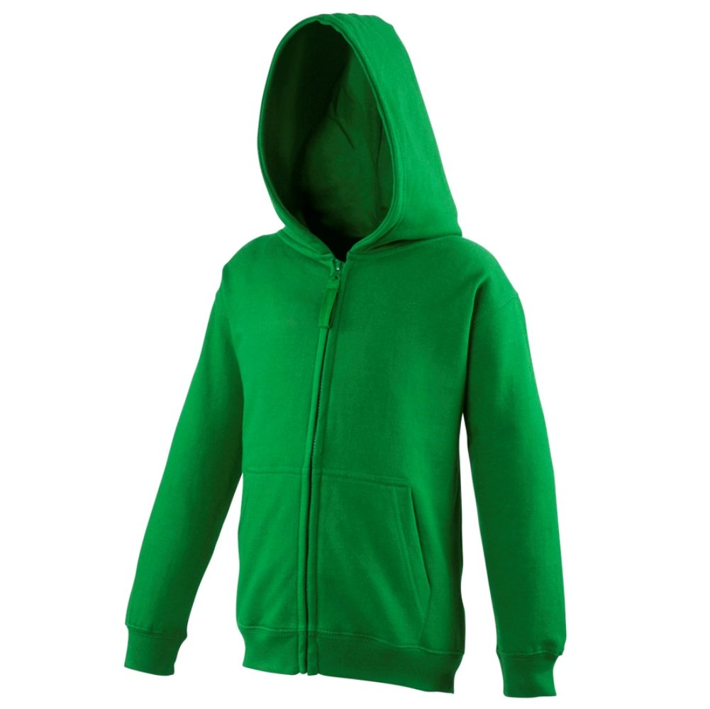 AWDis Big Boys' Just Hoods Zoodie Zip Up Hoodie Sweatshirt