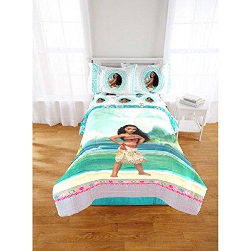 Disney Princess Moana Full/Twin Comforter and Full Sheet Set