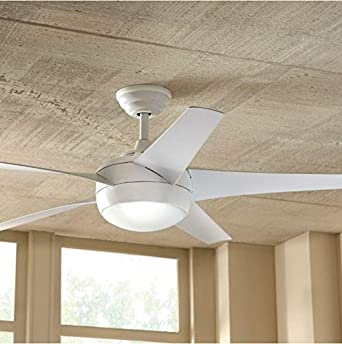 Amazon home decorators collection windward iv 52 matte white home decorators collection windward iv 52quot matte white ceiling fan 26662 aloadofball Choice Image