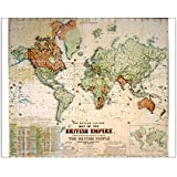 Media Storehouse 10x8 Print of Map of the British Empire (7403911)