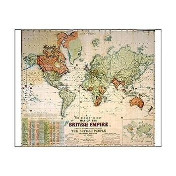 10x8 print of map of the british empire 7403911 amazon 10x8 print of map of the british empire 7403911 gumiabroncs Gallery