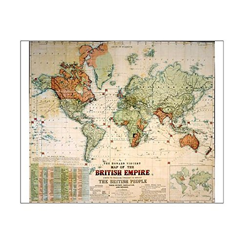 10x8 print of map of the british empire 7403911 amazon 10x8 print of map of the british empire 7403911 amazon kitchen home gumiabroncs Gallery