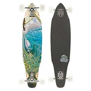 "Sector 9 The Chamber III Complete Longboard Skateboard Includes Gullwing Sidewinder Trucks - 8.1"" x 33"""