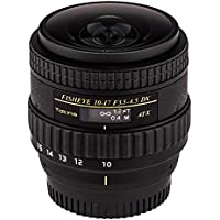 Tokina ATXAF107DXNHN 10-17mm f/3.5-4.5 AF DX NH Fisheye Lens for Nikon, Black