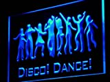 Disco Dance DJ Engraved LED Sign Night Light i881-b(c)