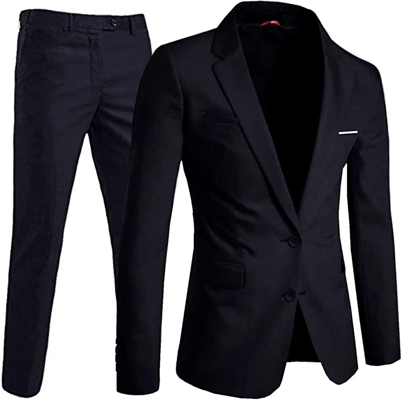 keskin collection - Traje - para hombre negro 25 : Amazon.es ...