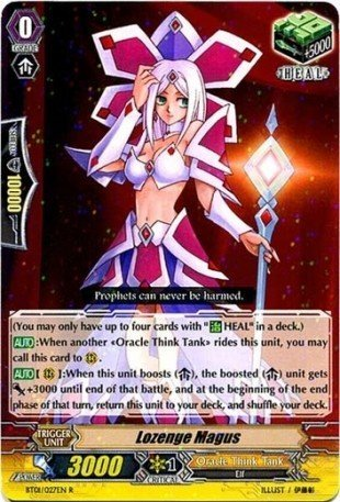 Cardfight   Vanguard TCG - Lozenge Magus (BT01 027EN) - Descent of the King of Knights by Bushiroad Inc.