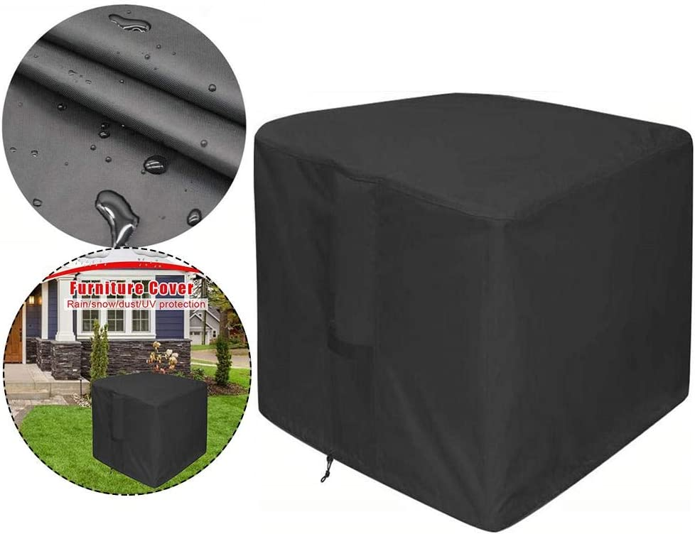 N/Z Patio Furniture Covers, Large Heavy Duty Ratan Patio Furniture Cover, Square Patio Furniture Covers, Outdoor Garden Table Cover Waterproof Dustproof