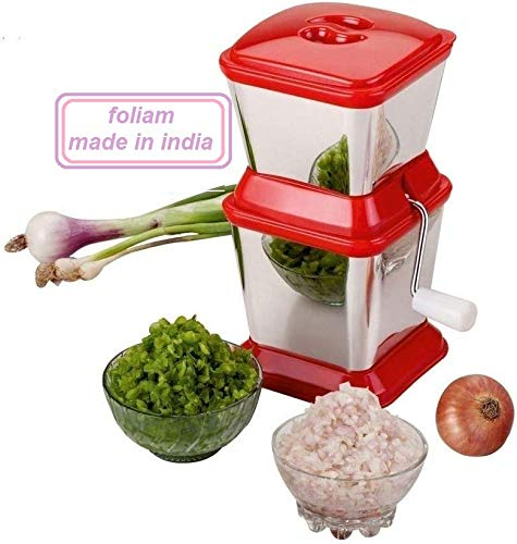 Foliam Ambition Stainless Steel Onion, Chilly, Dry Fruit & Vegetable Cutter, 1-Piece (Color May Vary) Price & Reviews