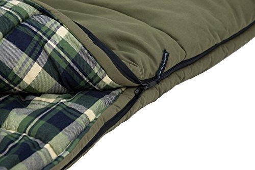 ALPS OutdoorZ Redwood -10 Rectangle Sleeping Bag: Amazon.es: Deportes y aire libre