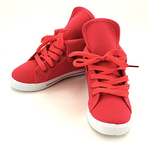Enimay Kid's High Top Fashion Sneakers Vans Inspired Childre
