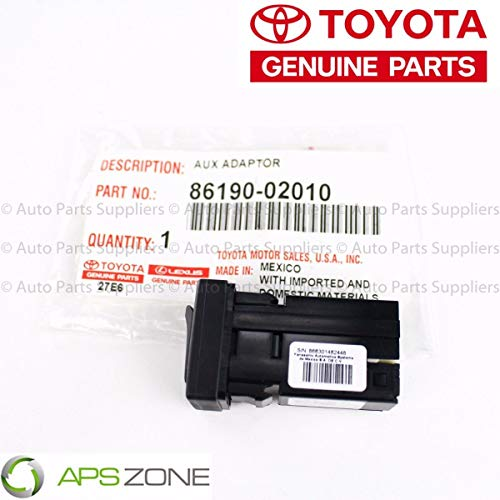 TOYOTA Genuine (86190-02010) Stereo Adapter Assembly