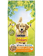 PURINA FRISKIES BALANCE Dog Food with Chicken and Vegetables 10kg