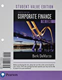 img - for Corporate Finance: The Core, Student Value Edition Plus MyFinanceLab with Pearson eText -- Access Card Package (4th Edition) book / textbook / text book