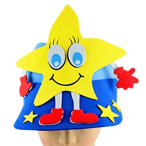 al Hat Preschool Performance Props Caps Kindergarten Baby Christmas New Year Party Supplies star ()