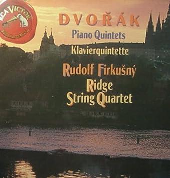 Dvorak Piano Quintets by Rudolf Firkusny