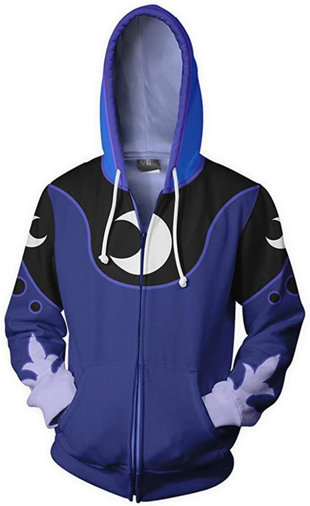 Xiao Maomi Hoodie Casual Cool Jacket Hoodie Anime Dash Cosplay Costume Zipper Long Sleeves Coat