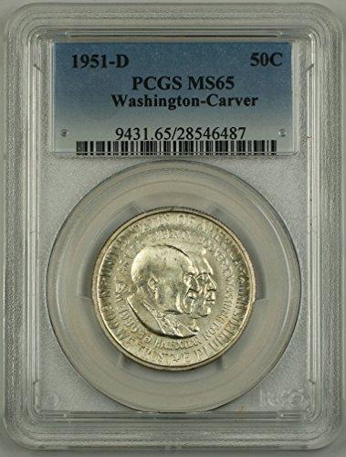 1951 D Washington Carver Half Dollar PCGS MS-65 ()