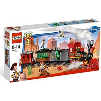 Amazon Com Lego Toy Story Western Train Chase 7597 Toys Games