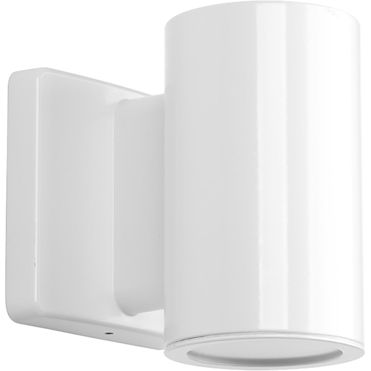 Progress Lighting P563000-030-30K 3IN Cylinders Wall Lantern, White