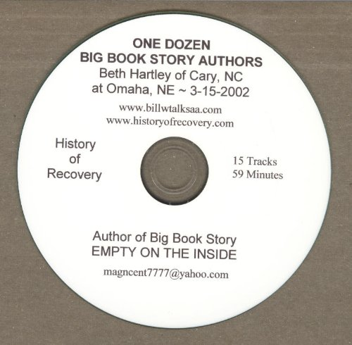Alcoholics Anonymous Big Book Story Authors 12 Cds (History of Recovery - Mul... by History of Recovery