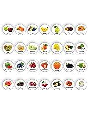 28pcs Refrigerator Magnets for Fridge Kitchen Home Office Magnet for Whiteboard Fridge Magnets