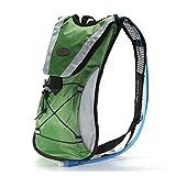 KingWinX Cycling Hydration Backpacks, Green