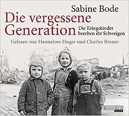 Book Die vergessene Generation