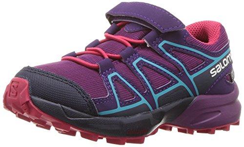 Price comparison product image Salomon Unisex-Kids Speedcross CSWP K Trail Running Shoe, Grape Juice, 10K M US Little Kid