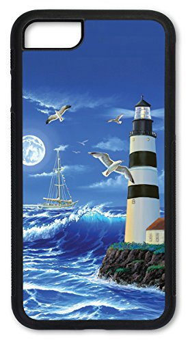 (iPhone 6 Case, Slim Fit Shell Hard Plastic Full Protective Cover Case for Apple iPhone 6 - Lighthouse)
