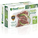 """FoodSaver 8"""" & 11"""" Rolls with unique multi layer construction, BPA free, Multi-Pack"""