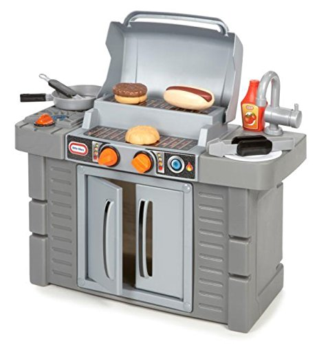 Little Tikes Kitchen Cook 'n Grow BBQ Grill Playset Toy Toddler Pretend Play Kid ()