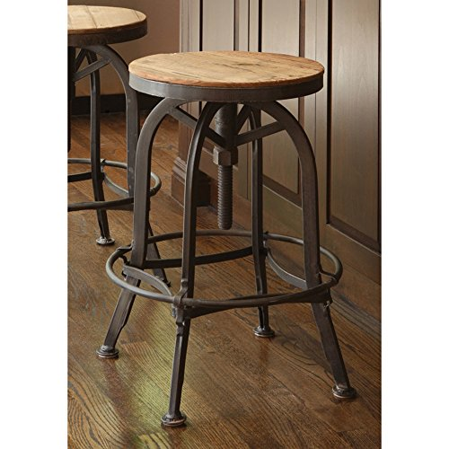 Akron 25 Inch Kitchen Adjustable Counter Height Bar Stool Buy Online In Guatemala At Guatemala Desertcart Com Productid 20901661