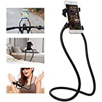 Cell Phone Holder, Universal Mobile Phone Stand, Lazy Bracket, DIY Free Rotating Mounts Can Hanging Neck