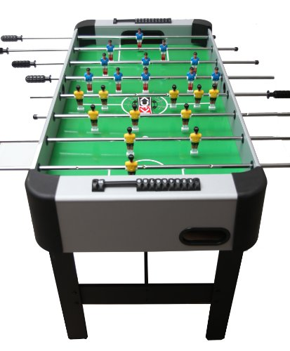 Kick Foosball Table Silver Conquest, 48 In