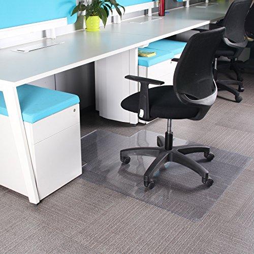 60OFF MultiWare Tapis Protege Sol Chaise De Bureau Pour Parquets Transparent Forme D