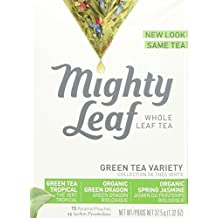 Mighty Leaf Tea Green And White Tea Variety, 15 tea bags