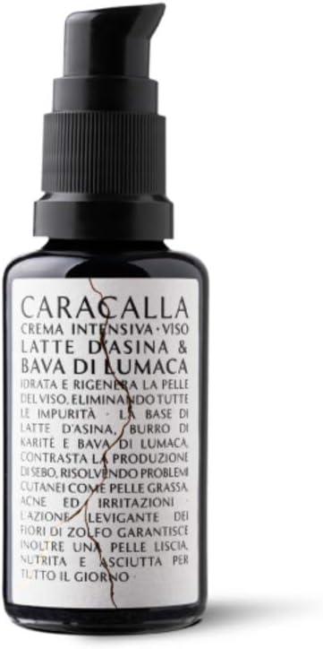 Caracalla Luxury Edition - Crema Intensiva Cara - Leche de burra · Baba de caracol pura – Pieles grasas, secas, sensibles, acné e irritaciones – ...